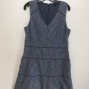 Gap Denim-Like Dress with Pockets Size 12